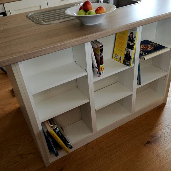 Centre Island Unit Bookcase