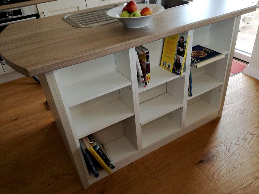 Centre Island Unit Bookcase