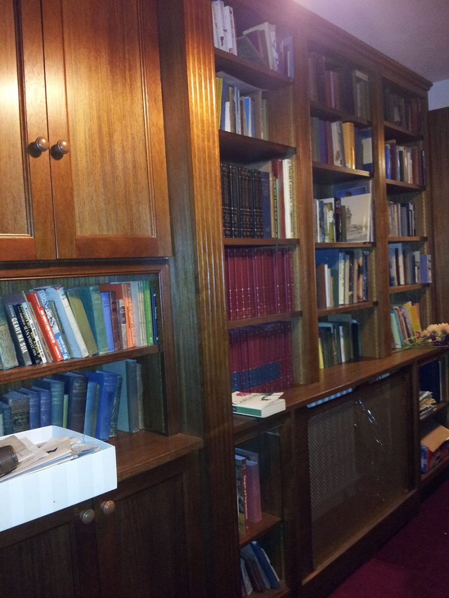 Home Library in Teak