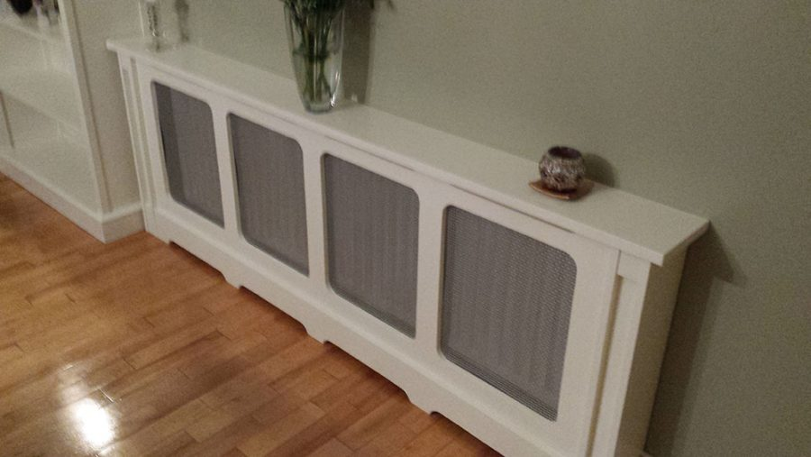 Large Painted Radiator Cabinet