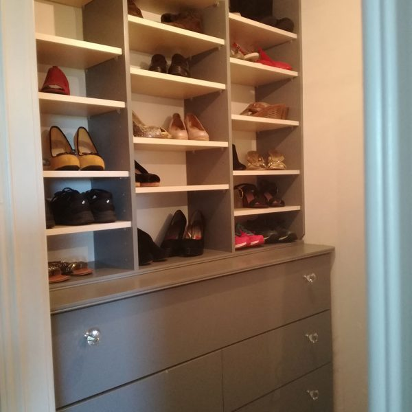 Shoe Storage Unit with Deep Drawers