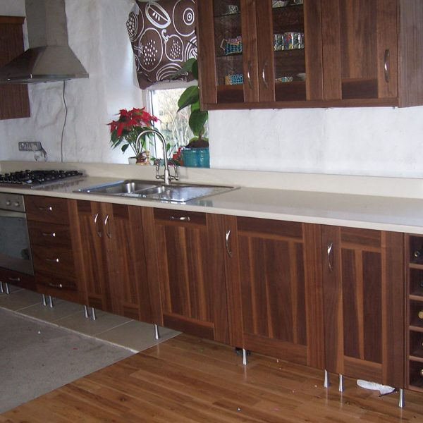 Solid Walnut Kitchen